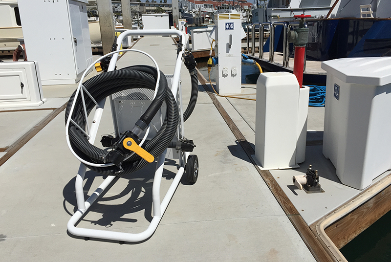 Boat Waste Pump Out System