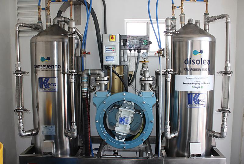 Marine Waste Pump System