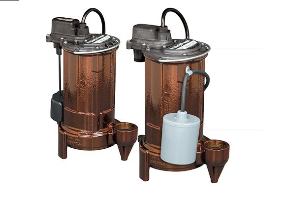 Marine sewage pumps